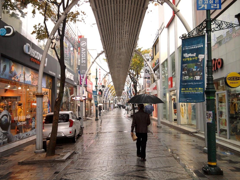Jeonju gatvėm