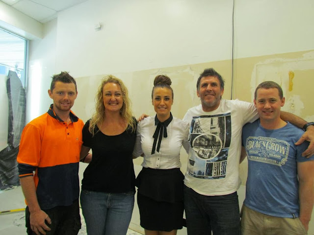 Steve and Michelle from House Rules with HeadOffice team