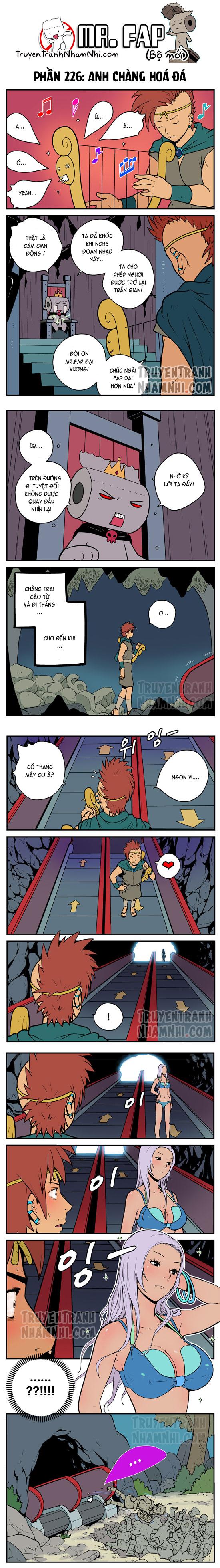 Mr. FAP (bộ mới) phần 226: Anh chàng hoá đá