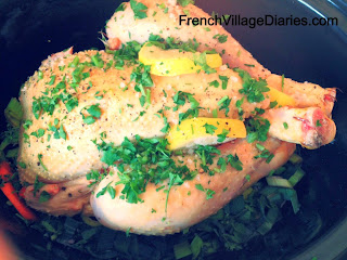 French Village Diaries slow cooker chicken recipe