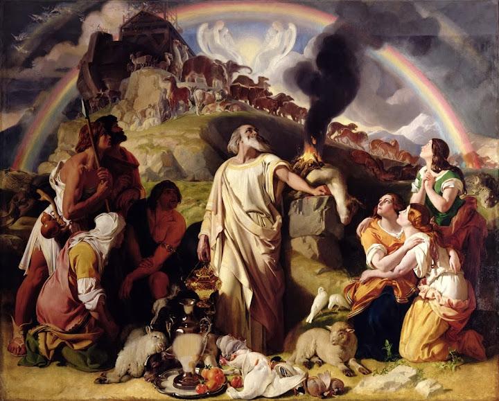 Daniel Maclise - Noah's Sacrifice