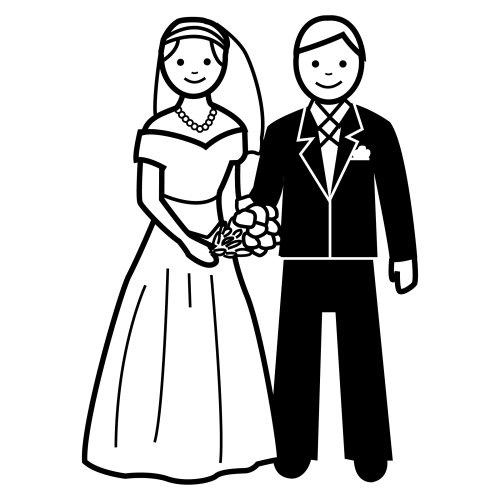 Matrimonio Catolico Para Colorear : De palomas para dibujar pero novios imagui