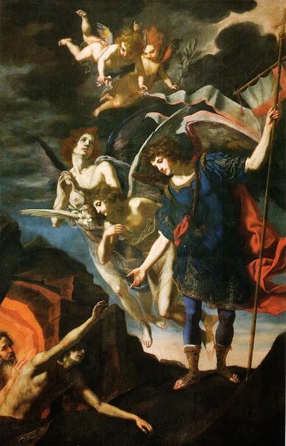 Jacopo Vignali - San Michele arcangelo libera le anime del purgatorio