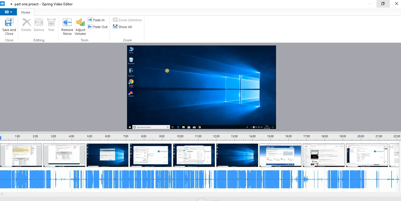 Desktop Recording and Video Course Creation Software