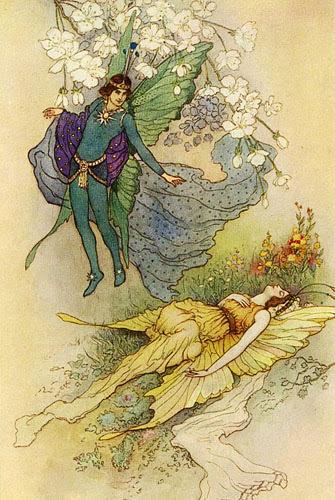 Ilustraciones de Cuentos de Hadas