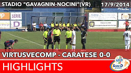 VirtusVecomp - Caratese - Highlights del 17-09-2014