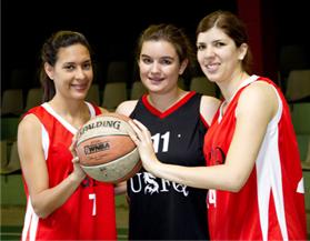 Apoyemos a nuestro equipo de Basketball USFQ: Viernes 18 y Sábado 19 marzo Coliseo Julio Cesar Hidalgo