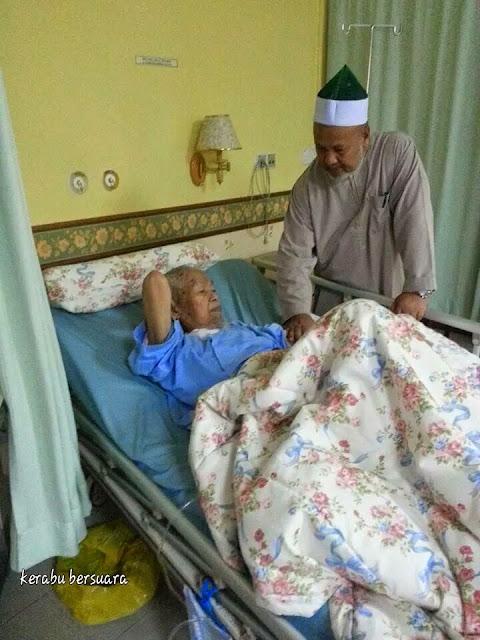 Keadaan Terkini TG Nik Aziz Di Hospital