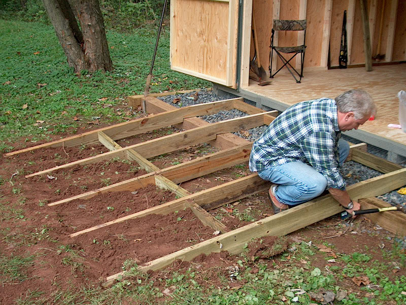 Garden Shed Ramp Woodworking Talk
