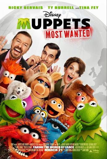 Τα Μάππετς Καταζητούνται Muppets Most Wanted Poster