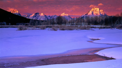 Winter Sunrise Light on the Teton Range, Grand Teton National Park, Wyoming.jpg