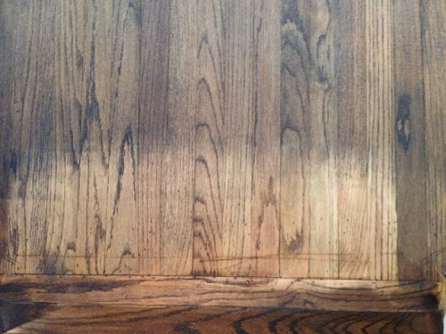 How To Fix The Picture Framehalo Effect In Hardwood Floors My