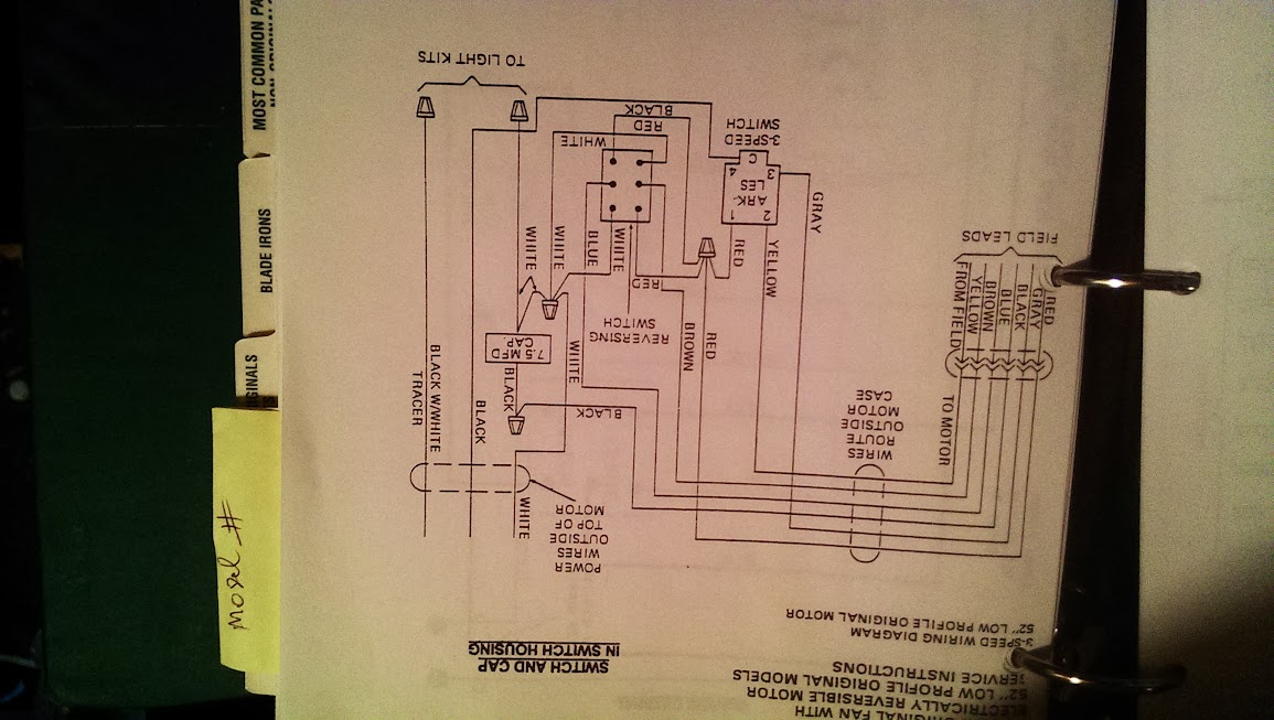 IMAG0233 80's hunter original wiring diagram Hunter Ceiling Fan Wiring Diagram at mifinder.co