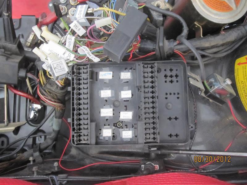 Fuse Box Swap: Late E24 -> E28 - MyE28.comMyE28.com