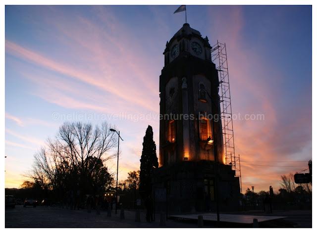 Clock tower in Alta Gracia