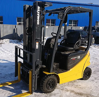 Xe nâng điện Komatsu Battery Forklift