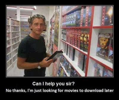 DVD stores ? What ?