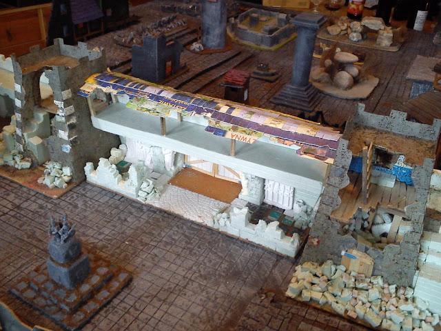 Dwalthrim's smithy - my table and terrain Mordheim_w_komorowie_10