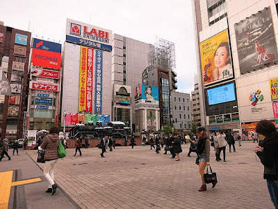 新橋駅前のSL広場