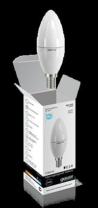 Светодиодные лампы Gauss Elementary свеча 6W E14