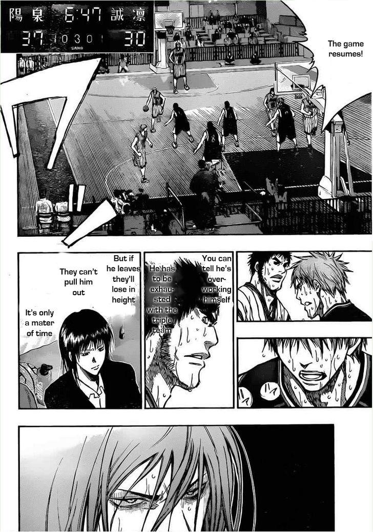 Kuroko no Basket Manga Chapter 155 - Image 04