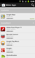 Play Store 3.4.7 Meine Apps