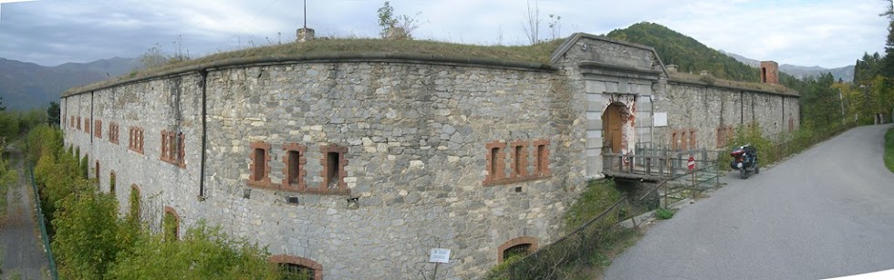Forte Bellerasco al Col di Nava