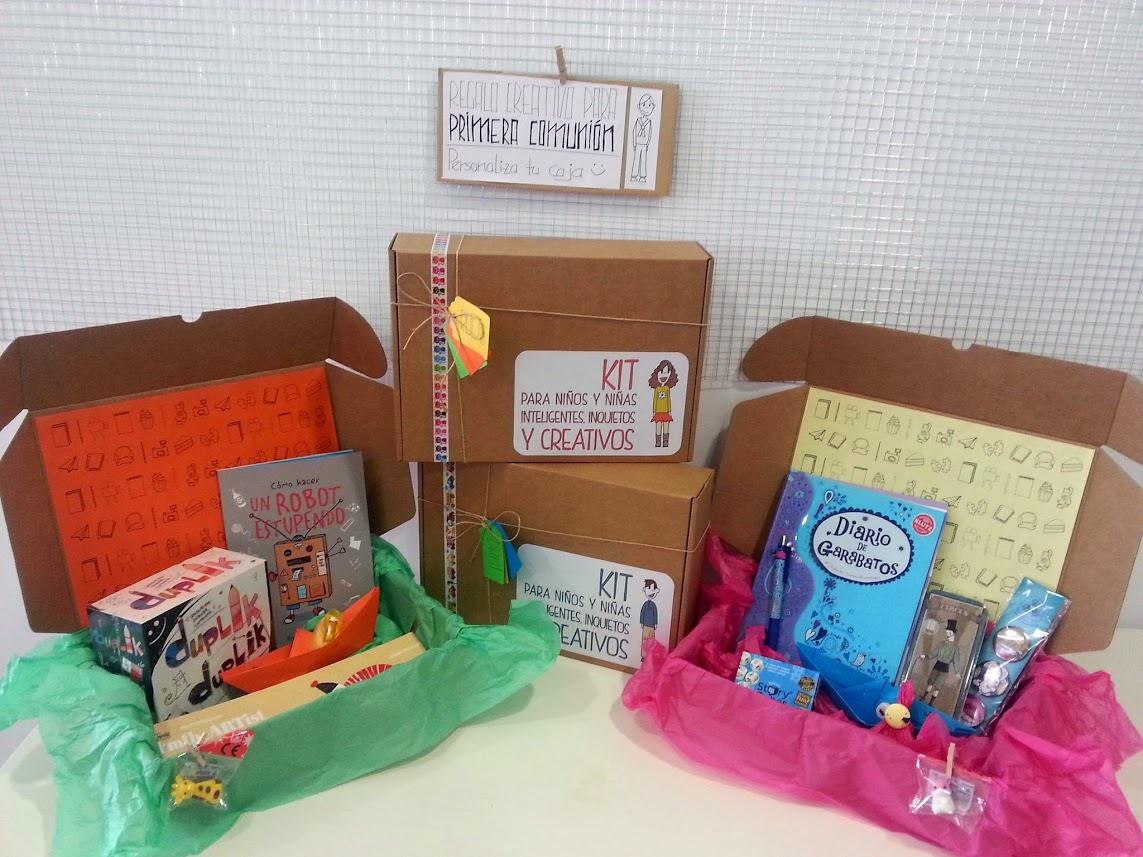Regala cajas creativas para ni os y ni as casa tomada for Cajas personalizadas con fotos