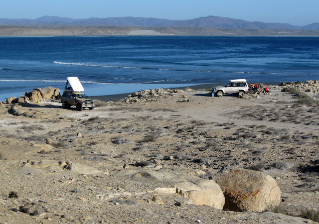 Central Baja Camp Site