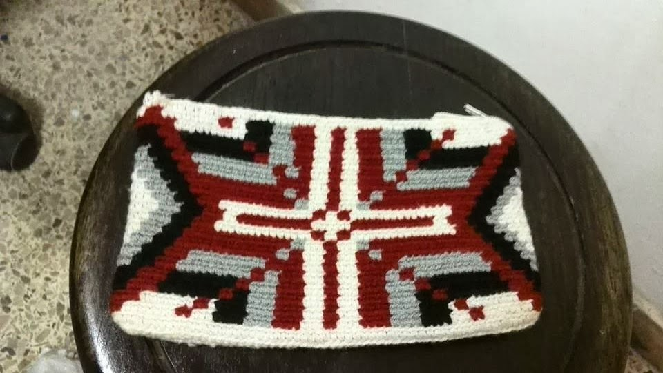 Cosmetiquera Cartera Wayuu Ref. 5