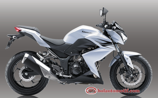 New kawasaki z250 rs white Putih