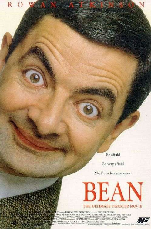 Poster Of Bean (1997) Full Movie Hindi Dubbed Free Download Watch Online At Alldownloads4u.Com