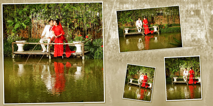 Sông nước hữu tình là địa điểm chụp hình cưới lý tưởng cho cô dâu cùng chú rể