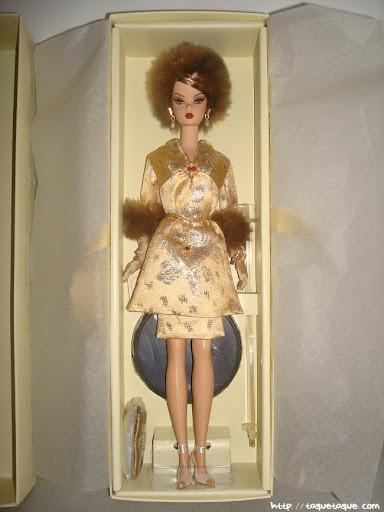 Barbie Silkstone Je ne sais quoi: la muñeca es preciosa