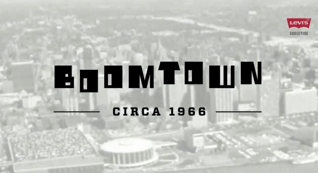 "Levi's Presents ""Boom Town"" Detroit in the 60's wed film"