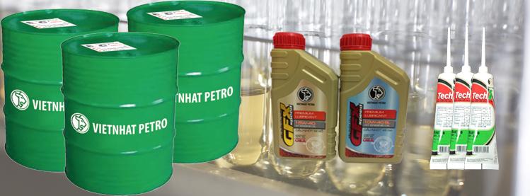 Kết quả hình ảnh cho Dầu nhớt Việt Nhật Petro