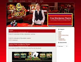 Free Casino,Gambling WordPress Theme