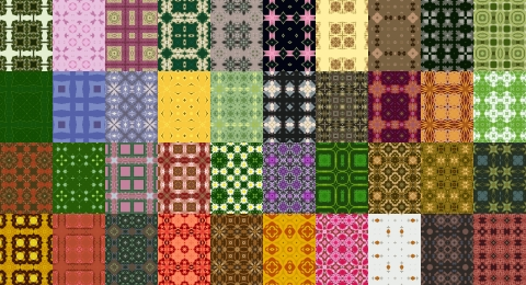 Free Seamless Patterns Set 9