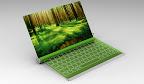 Фантастический проект малогабаритного, экологического ноутбука