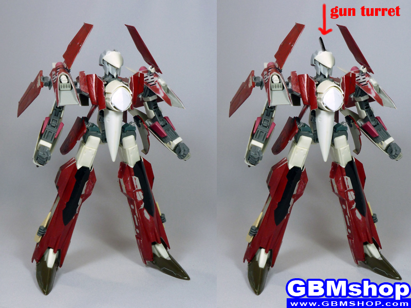 Work in progress VF-4 kai Macross GBM custom
