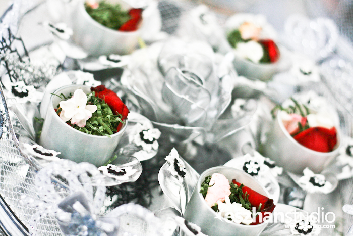 gubahan hantaran bunga rampai ana raffali