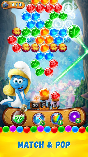 Smurfs Bubble Story- screenshot thumbnail