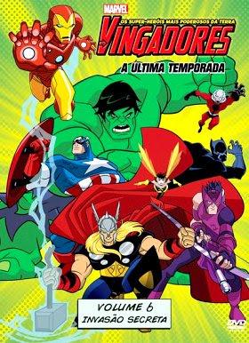 Filme Poster Os Vingadores – Os Super Heróis Mais Poderosos da Terra Vol.6  DVDRip XviD & RMVB Dublado