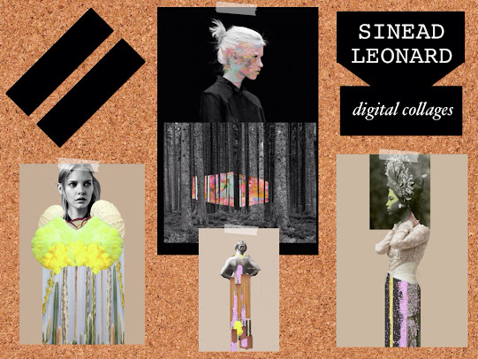 Sinead Leonard Digital Collages Mixed Media
