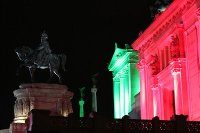 Roma notte tricolore