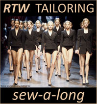 RTW Tailoring Sew-a-long