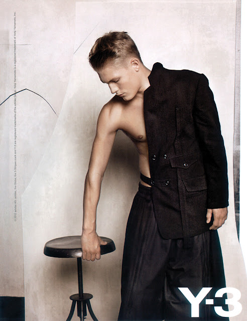 Harry Goodwins by Collier Schorr for Y-3, S/S 2012