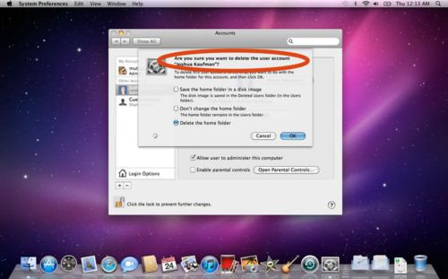 How to deleted files on mac