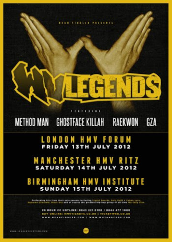 Wu Tang Clan Legends Live in Manchester