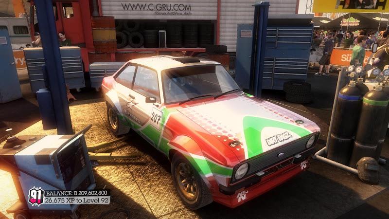 รายการรถกลุ่ม Rally ใน DiRT2 Cme-09